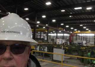 Ron Underwood, President of R&D Pipe Company